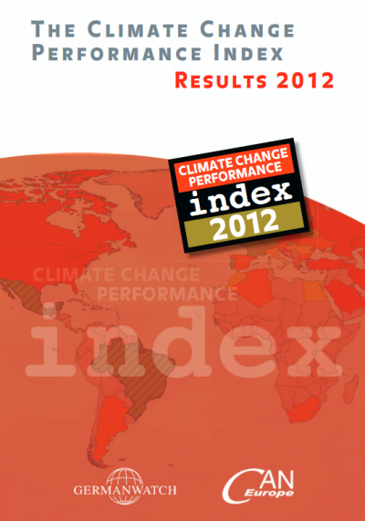 Climate Change Performance Index 2012