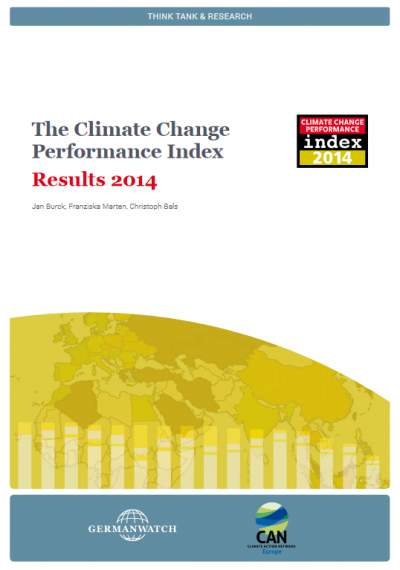Climate Change Performance Index 2014