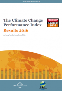 Climate Change Performance Index 2016